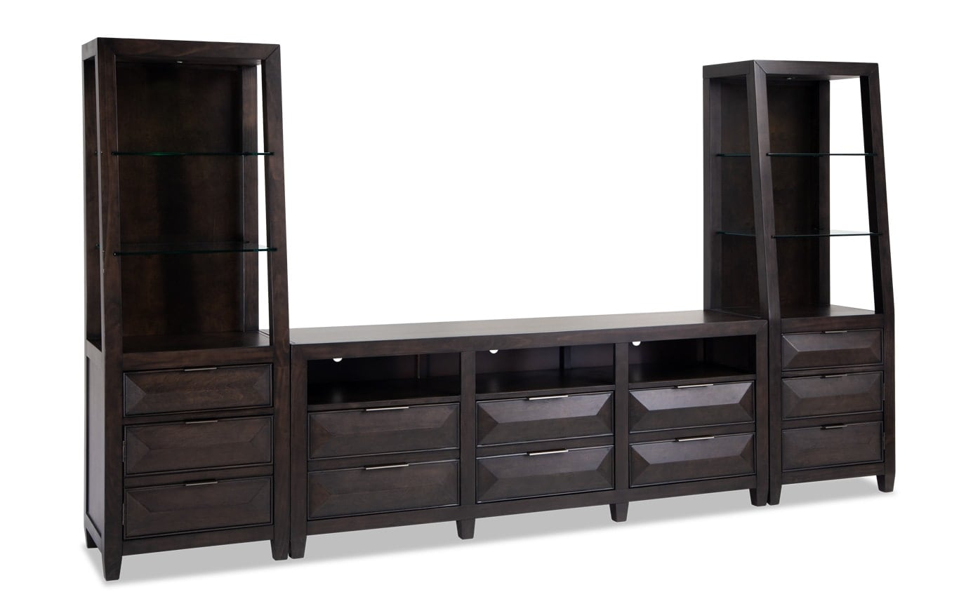 Profile Entertainment TV Console and Wall System