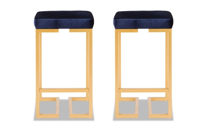 Set of 2 Tahiti Counter Stools