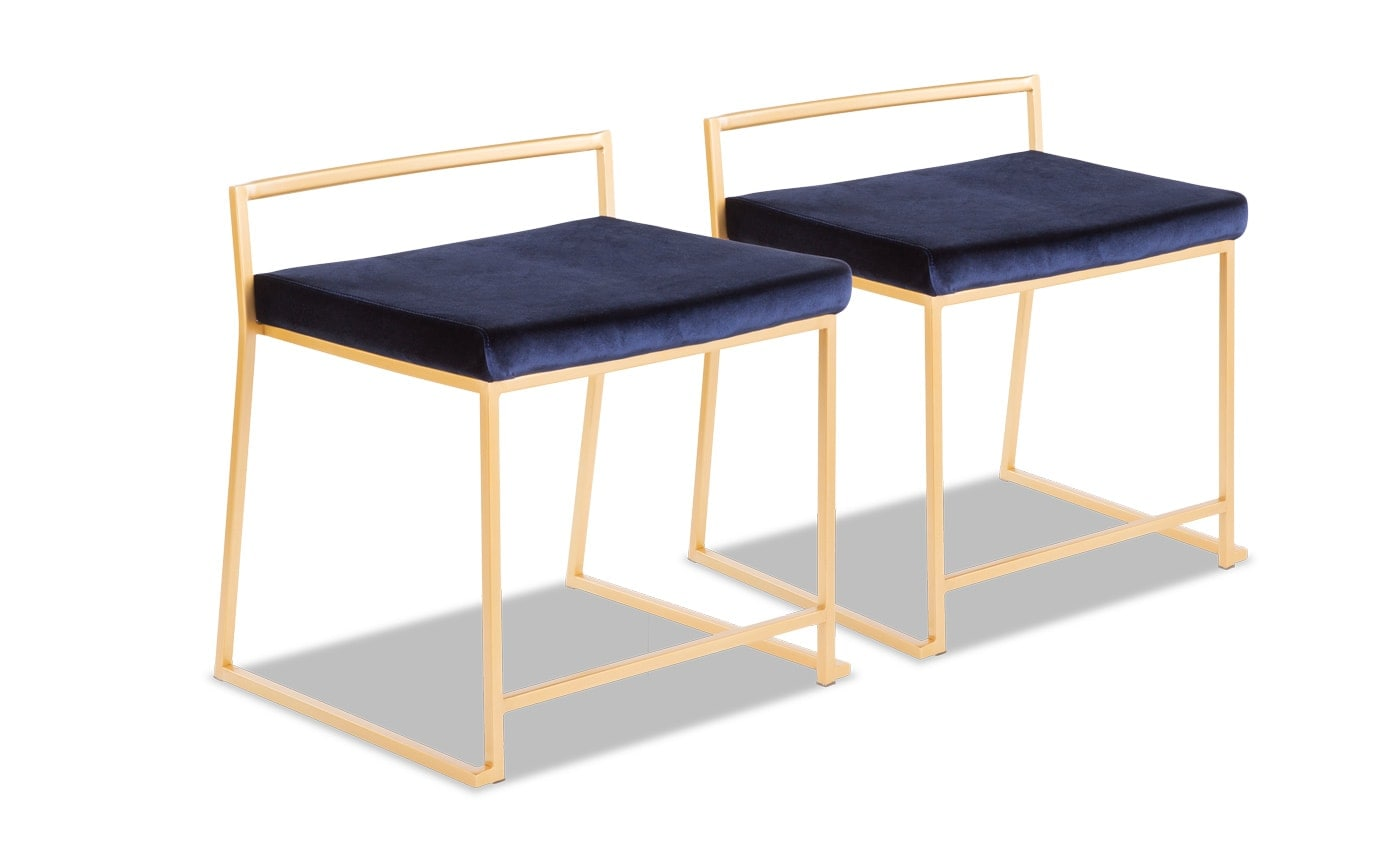 Keys Blue Dining Chair Set of 2