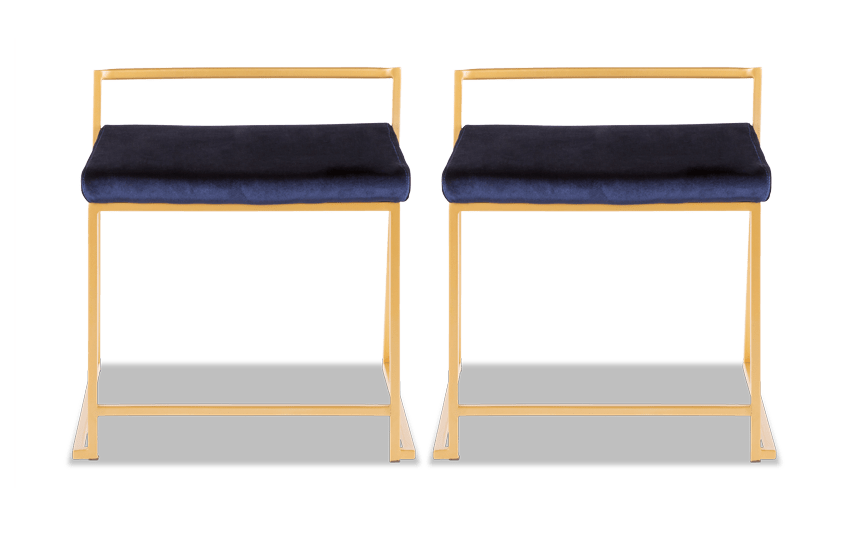 Keys Blue Dining Chair Set of 2