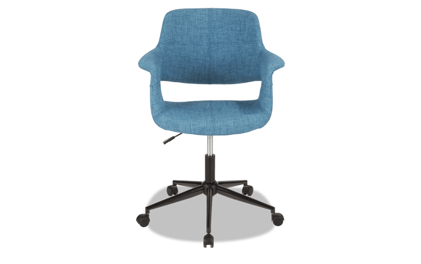 Mid-Century Flair Office Chair