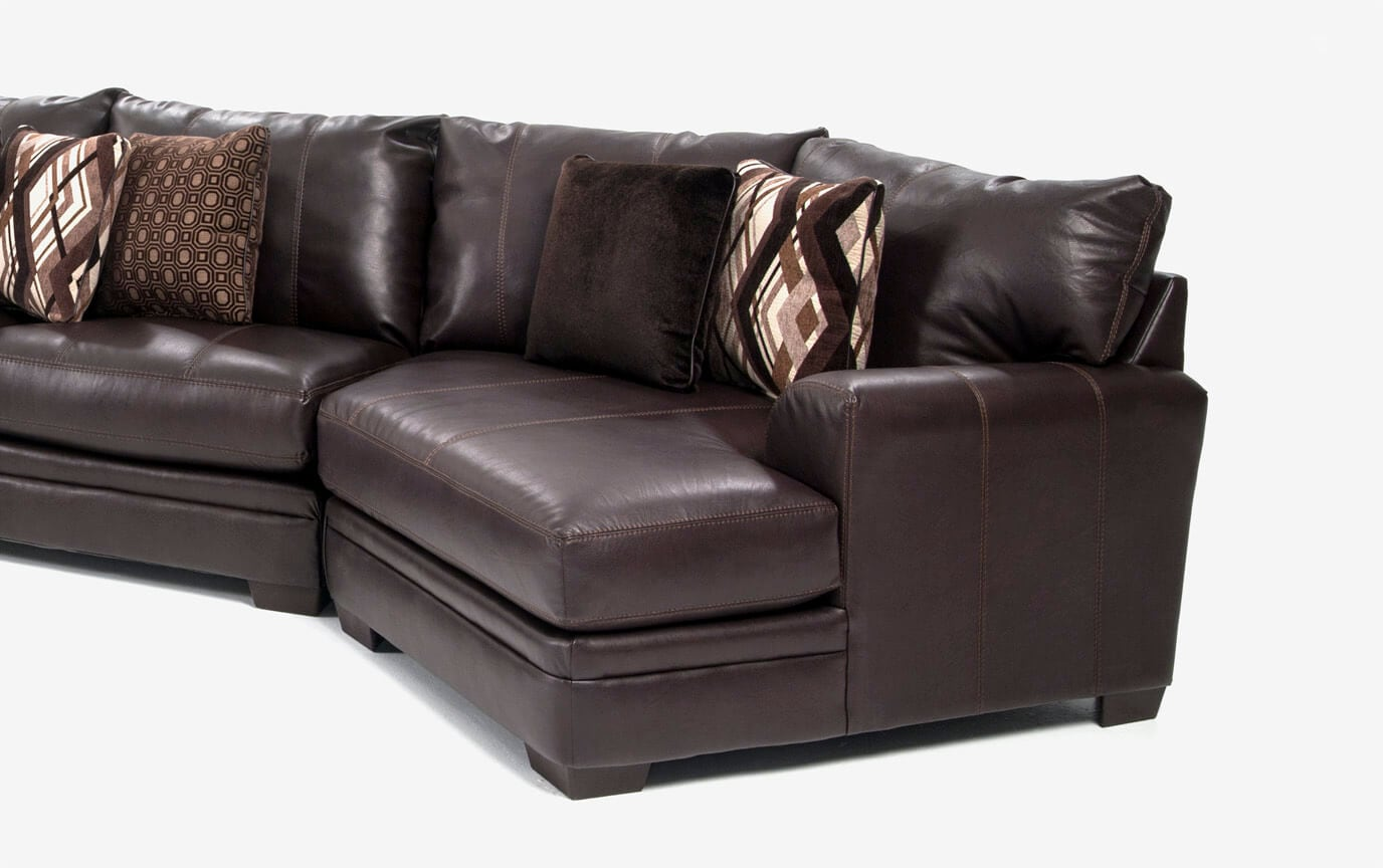 Ritz 4 Piece Left Arm Facing Sectional With Cuddler Chaise Bobs Com