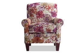 Tory Wildflower Accent Chair