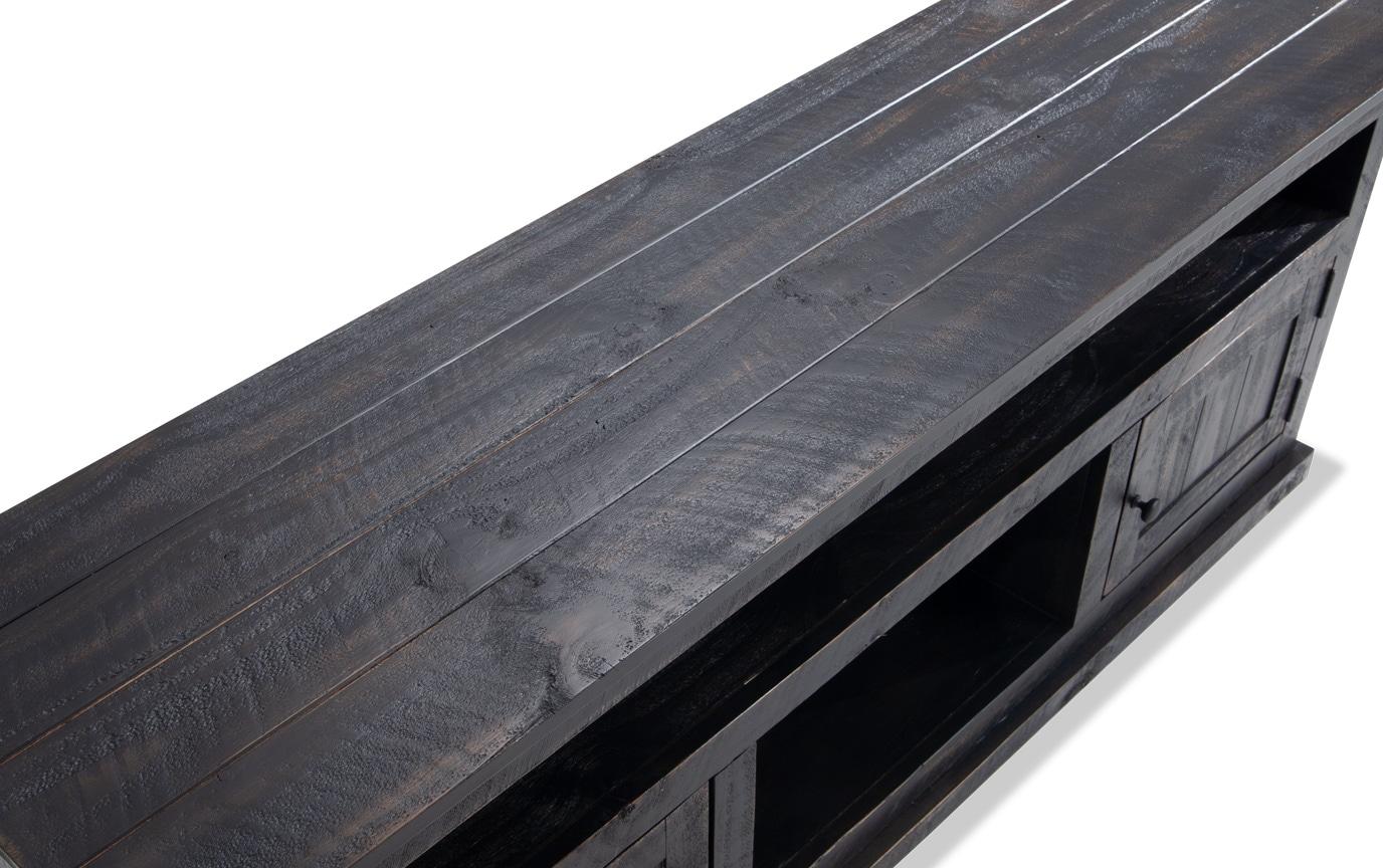 Kona Weathered Black 60'' TV Console