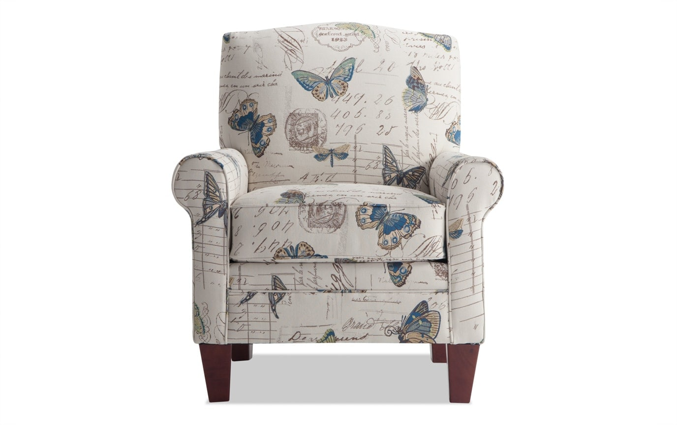 Tory Viera Colbalt Accent Chair