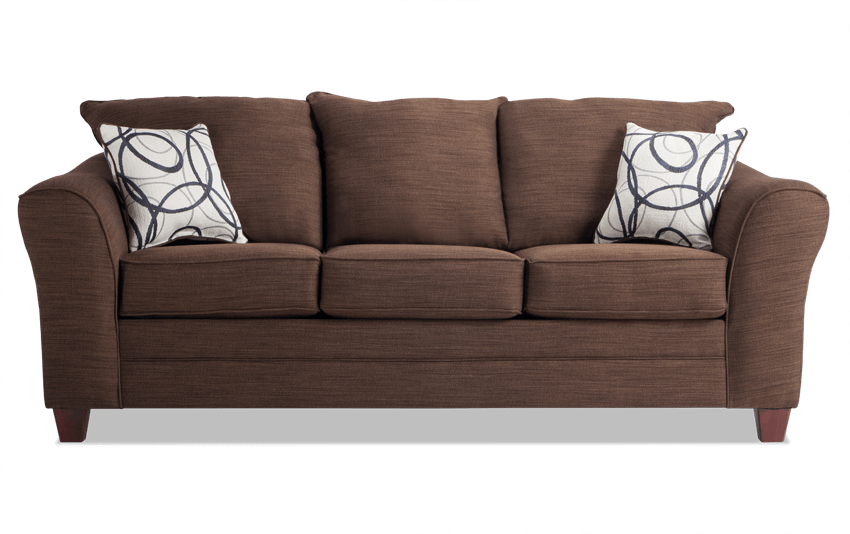 Adrina Mystery Chocolate Sofa