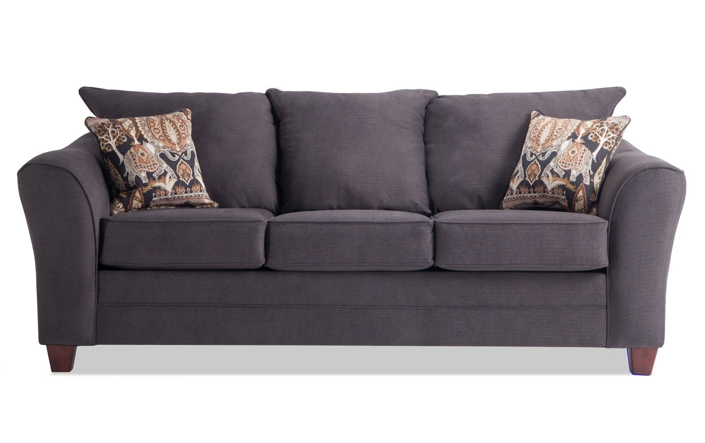 Adrina Charcoal Sofa