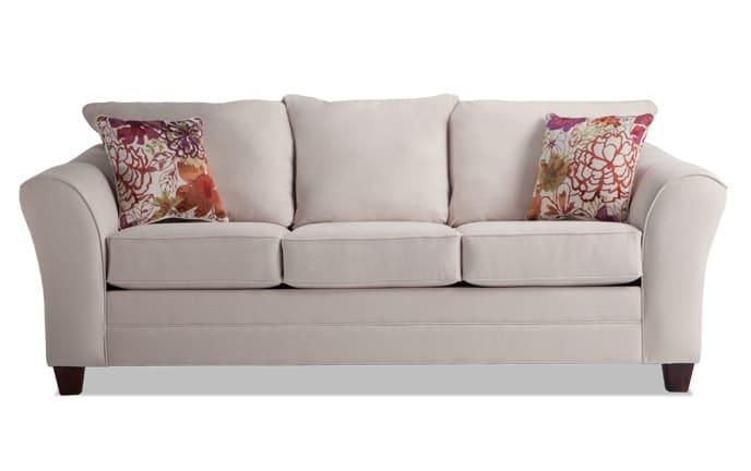 Adrina Cream Wildflower Sofa