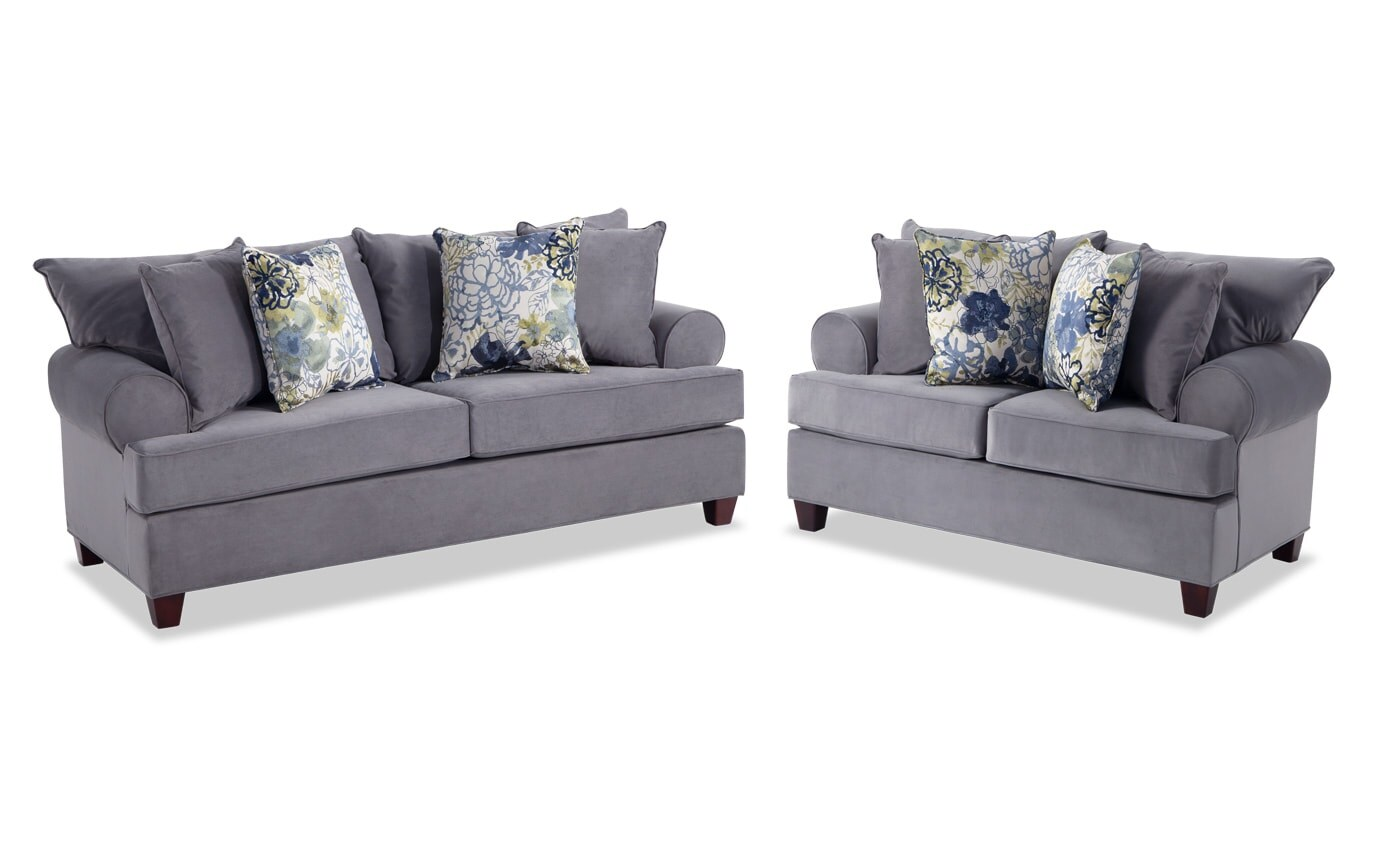 Monica Sofa & Loveseat