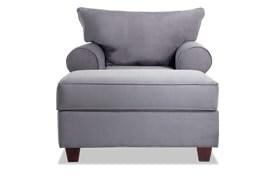 Monica Chair & Storage Ottoman