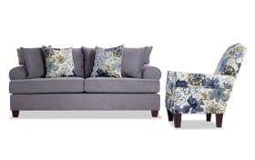 Monica Sofa & Accent Chair