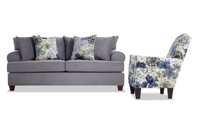 Monica Sofa & Accent Chair