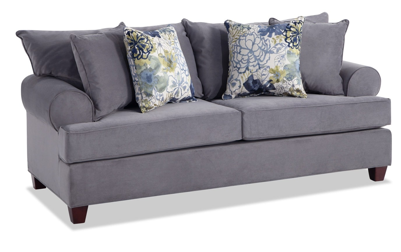 Monica Full Bob-O-Pedic Sleeper Sofa & Accent Chair