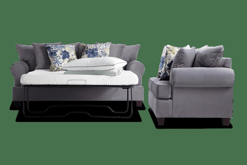 Monica Full Bob-O-Pedic Sleeper Sofa & Loveseat