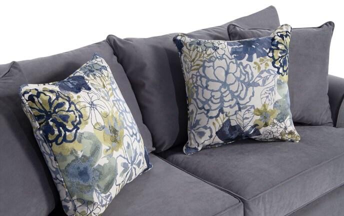 Monica Full Innerspring Sleeper Sofa & 2 Accent Chairs