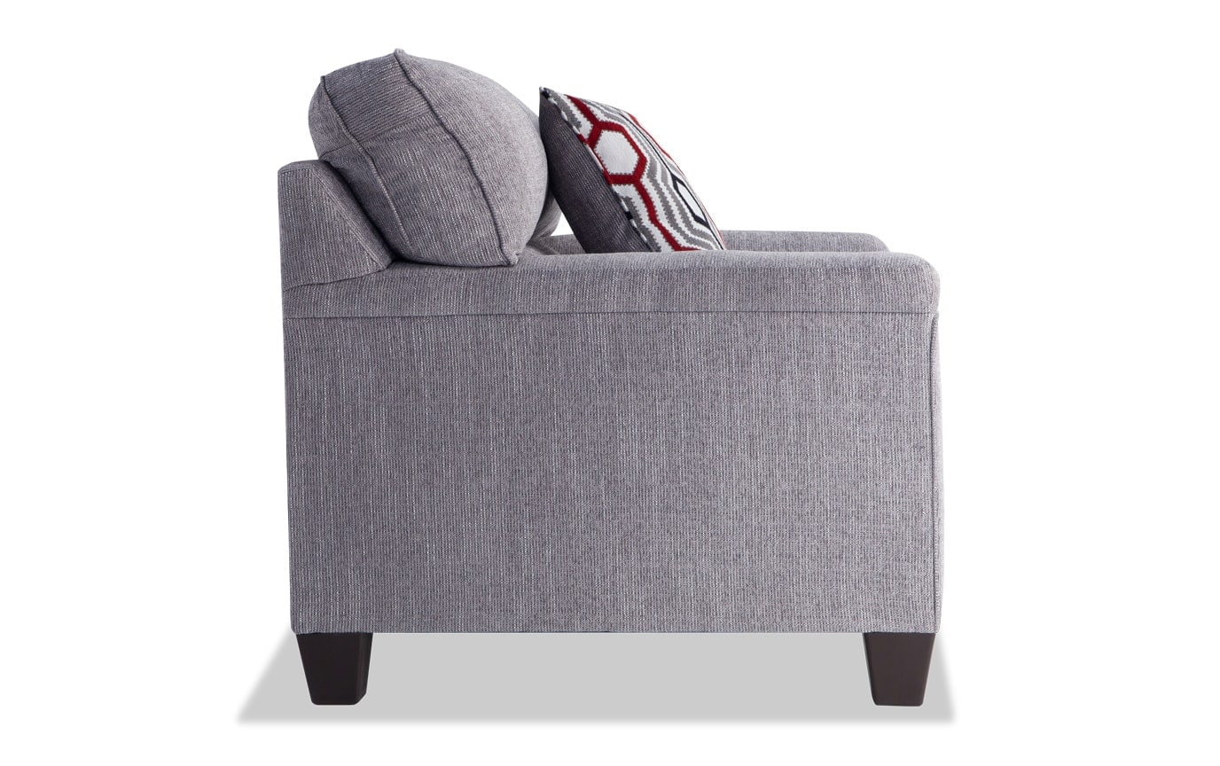 Calvin Concrete Gray Chair