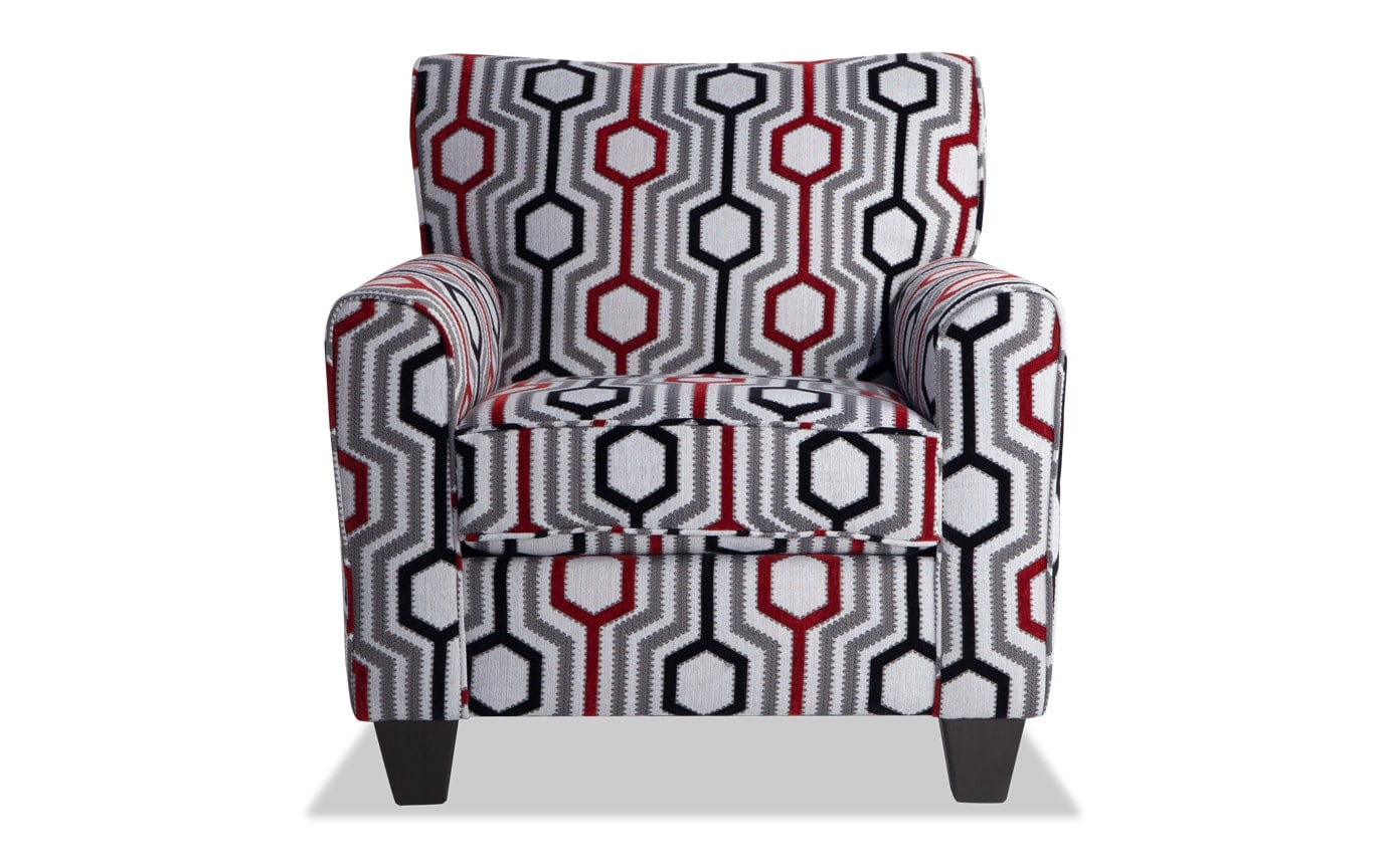 Wondrous Calvin Lierre Ruby Accent Chair Machost Co Dining Chair Design Ideas Machostcouk
