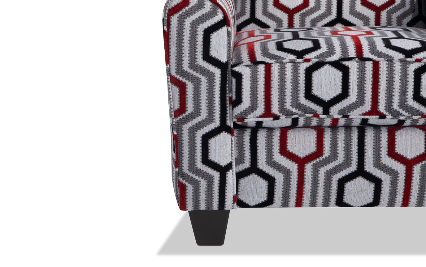 Calvin Lierre Ruby Accent Chair