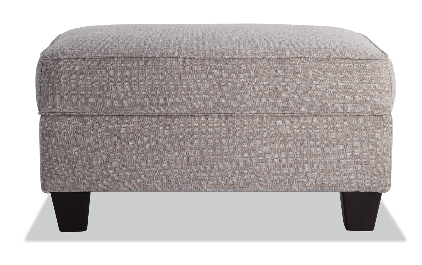 Remarkable Calvin Almond Beige Storage Ottoman Caraccident5 Cool Chair Designs And Ideas Caraccident5Info