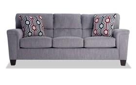 Calvin Concrete Gray Sofa