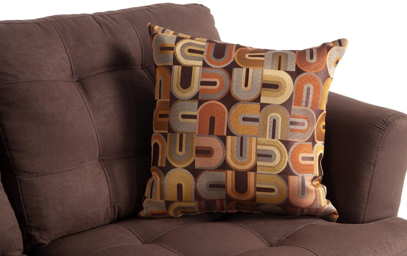 Essie Umber Sofa