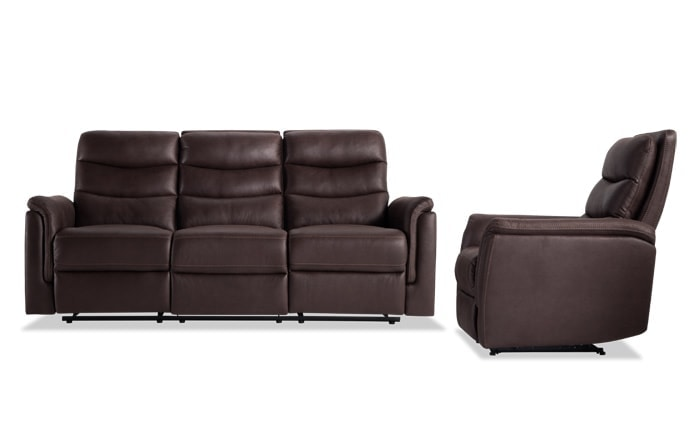 Forte Manual Reclining Sofa & Manual Recliner