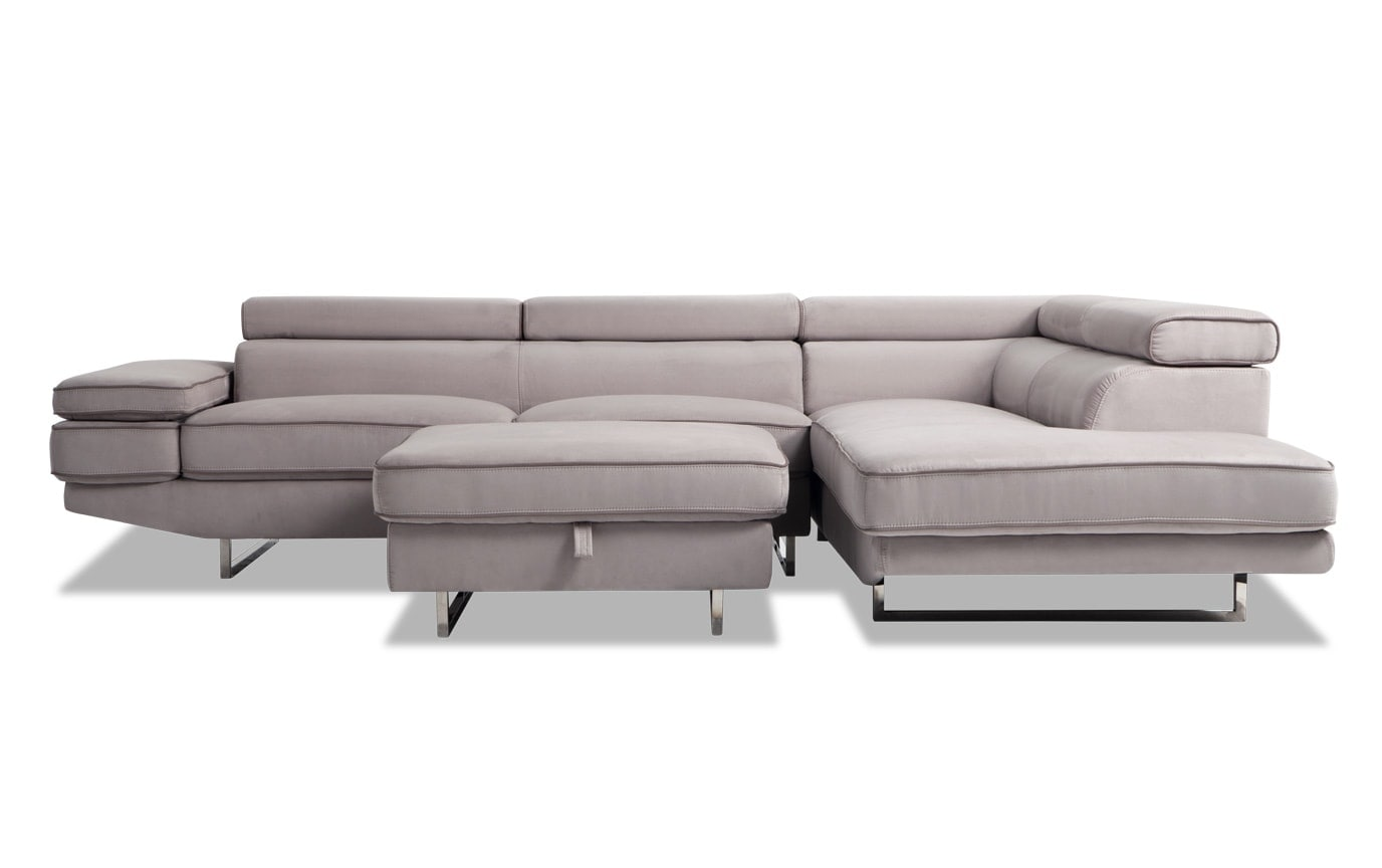 Comet 3 Piece Left Arm Facing Sectional