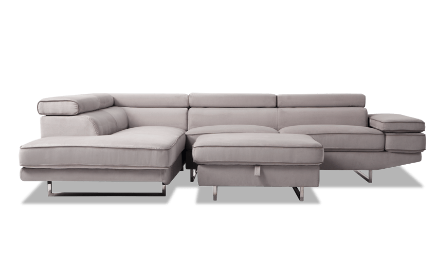 Comet 3 Piece Right Arm Facing Sectional