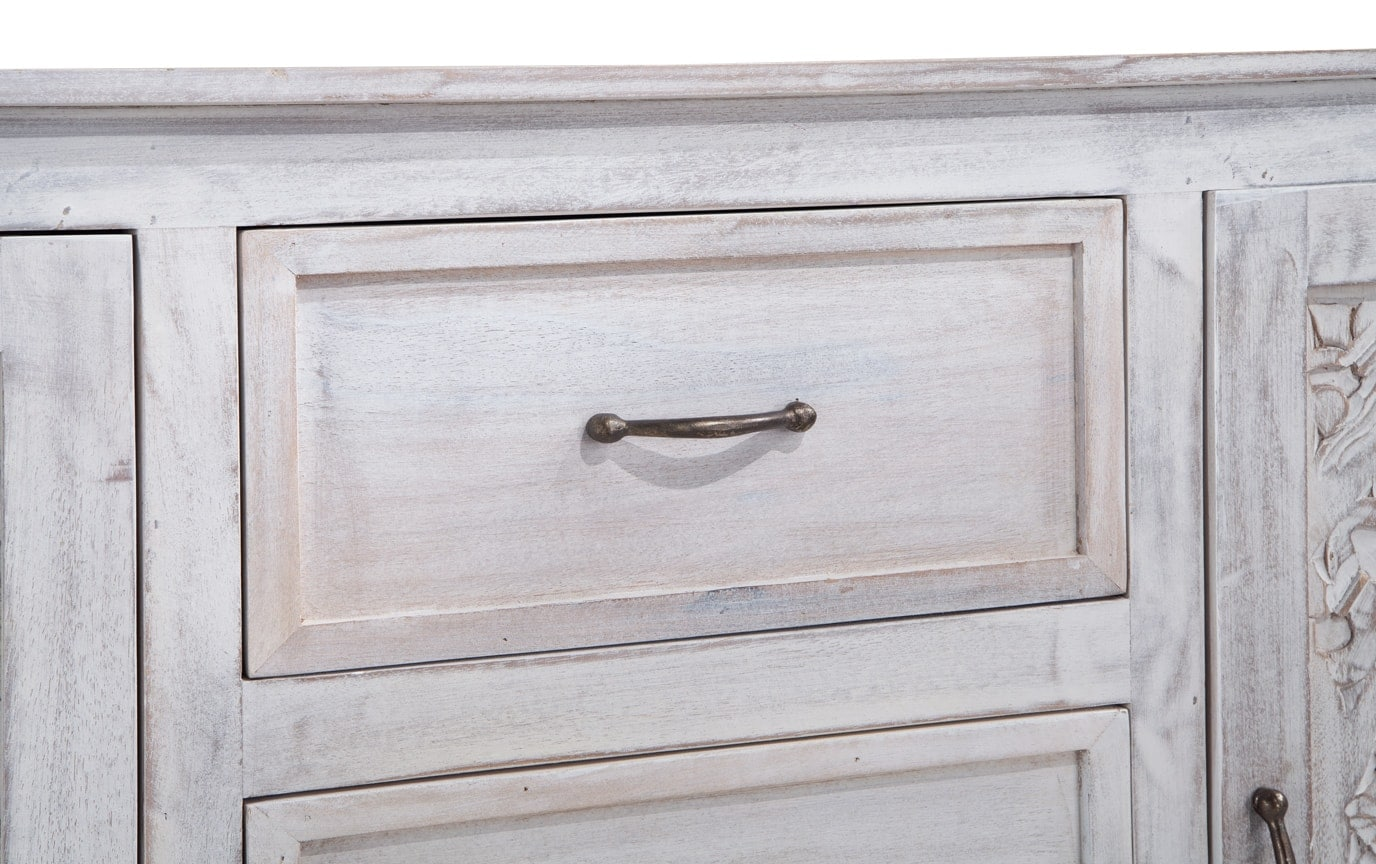 Boho Chic Three Drawer Cabinet