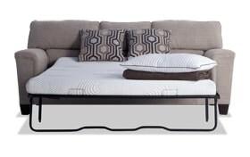 Calvin Almond Beige Bob-O-Pedic Queen Sleeper Sofa