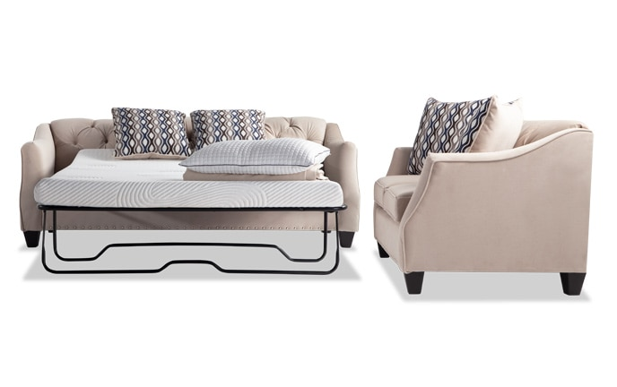 Marley Bob-O-Pedic Sleeper Sofa & Loveseat