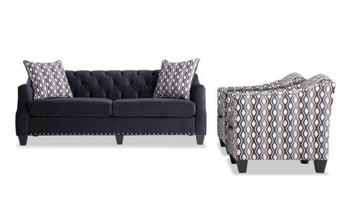 Marley Sofa & 2 Accent Chairs