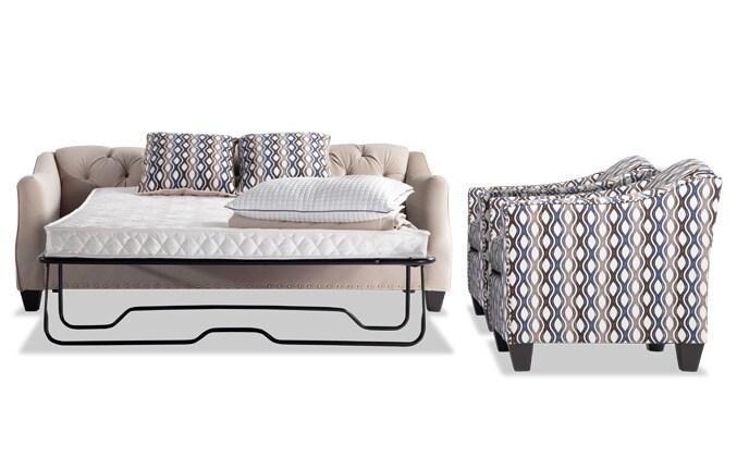 Marley Innerspring Sleeper Sofa & 2 Accent Chairs
