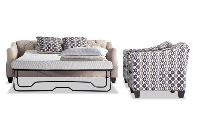 Marley Bob-O-Pedic Sleeper Sofa & 2 Accent Chairs