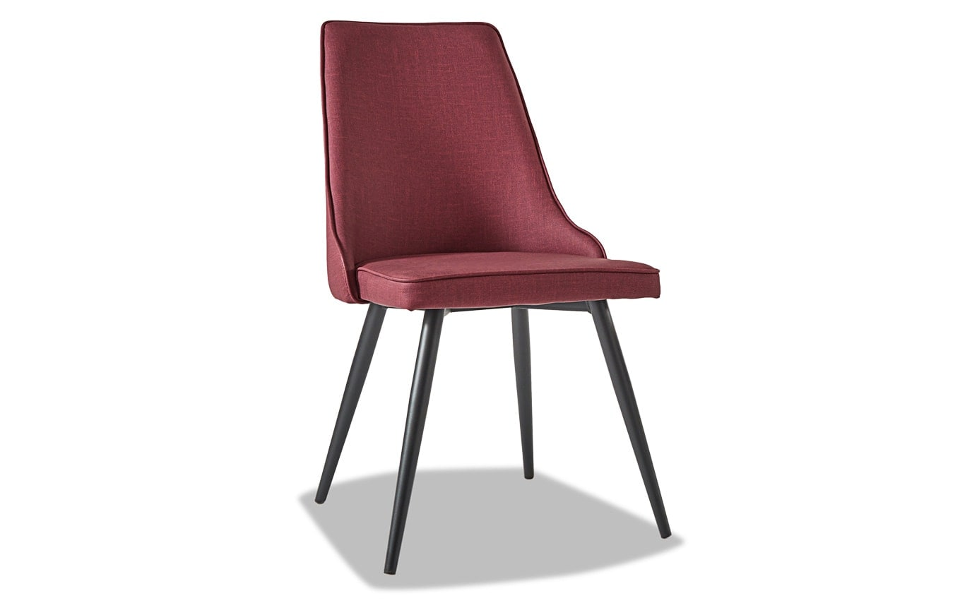 Set of 2 Alex Red Dining Chairs
