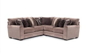 Luxe Gray 3 Piece Sectional
