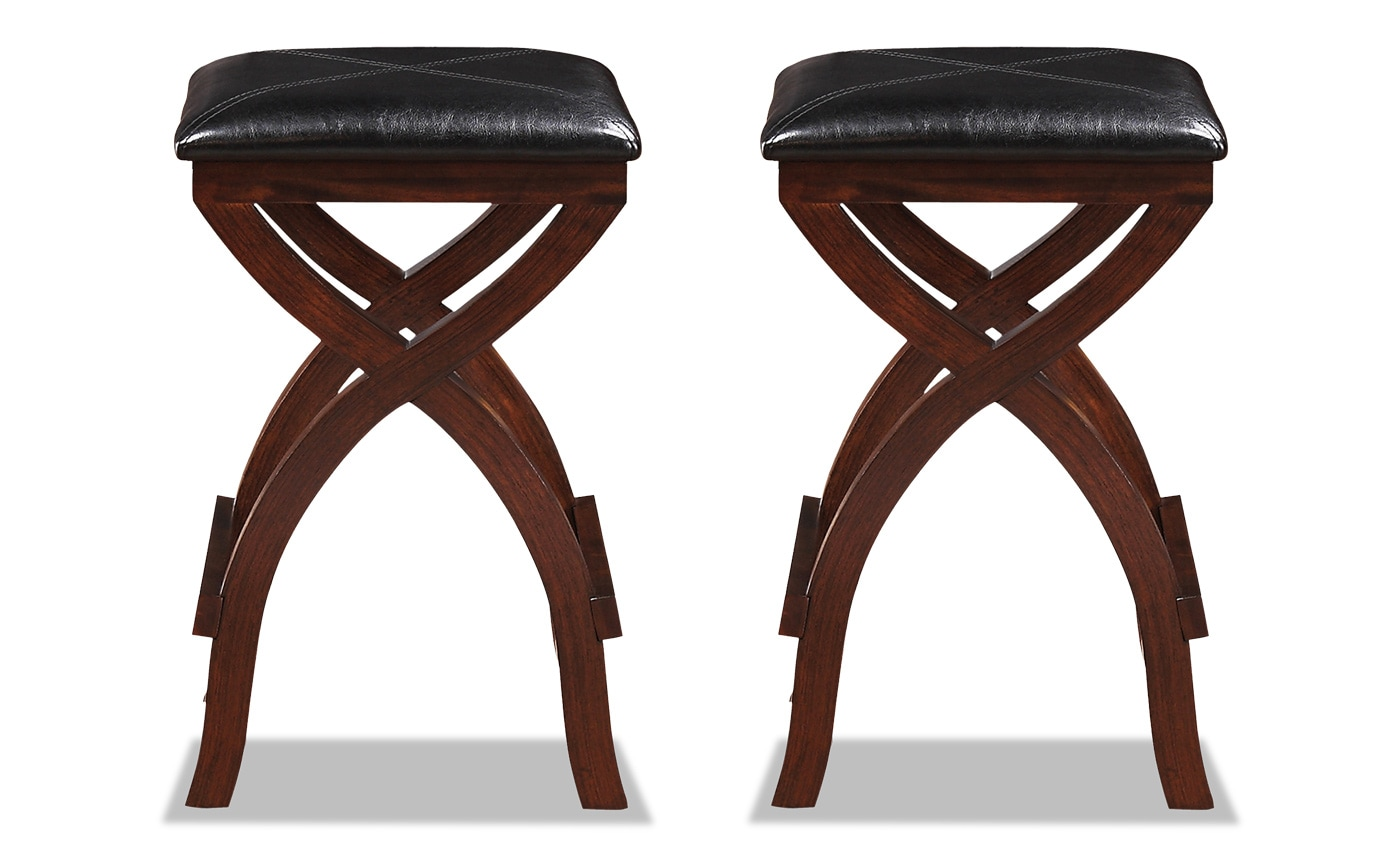 Set of 2 Vince Bar Stools