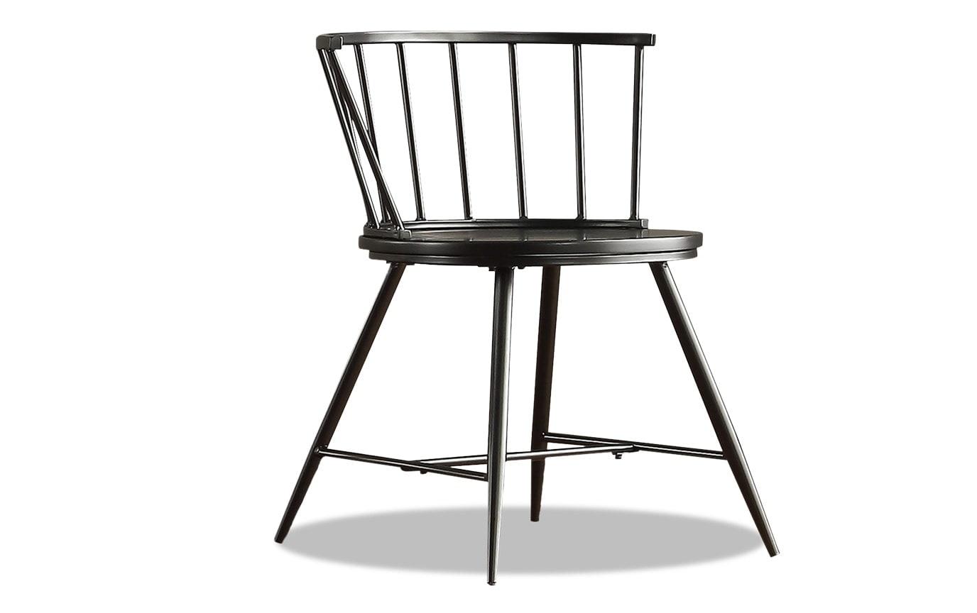 Set of 2 Shari Black Dining Chairs