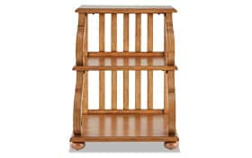 Jake Natural 3 Tier Accent Table