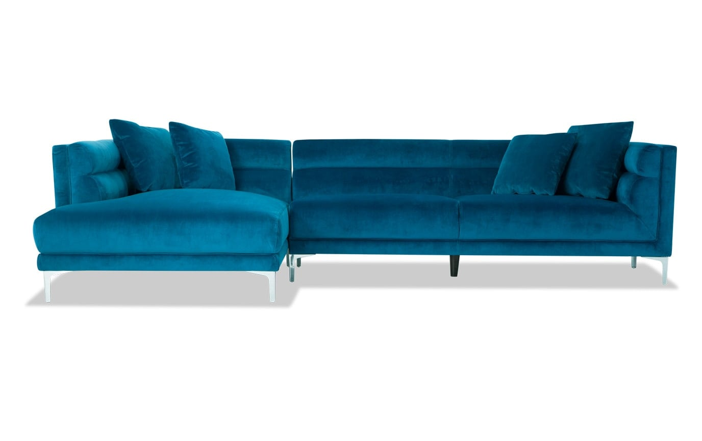 Elegance 2 Piece Right Arm Facing Sectional