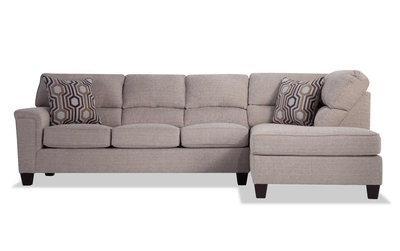 Calvin 2 Piece Left Arm Facing Sectional