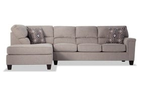 Calvin 2 Piece Right Arm Facing Sectional