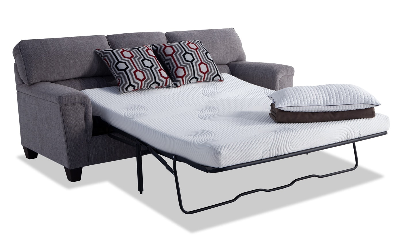 Calvin Bob O Pedic Queen Sleeper Sofa Bobs Com