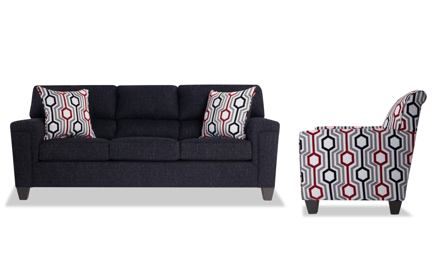 Calvin Sofa & Accent Chair