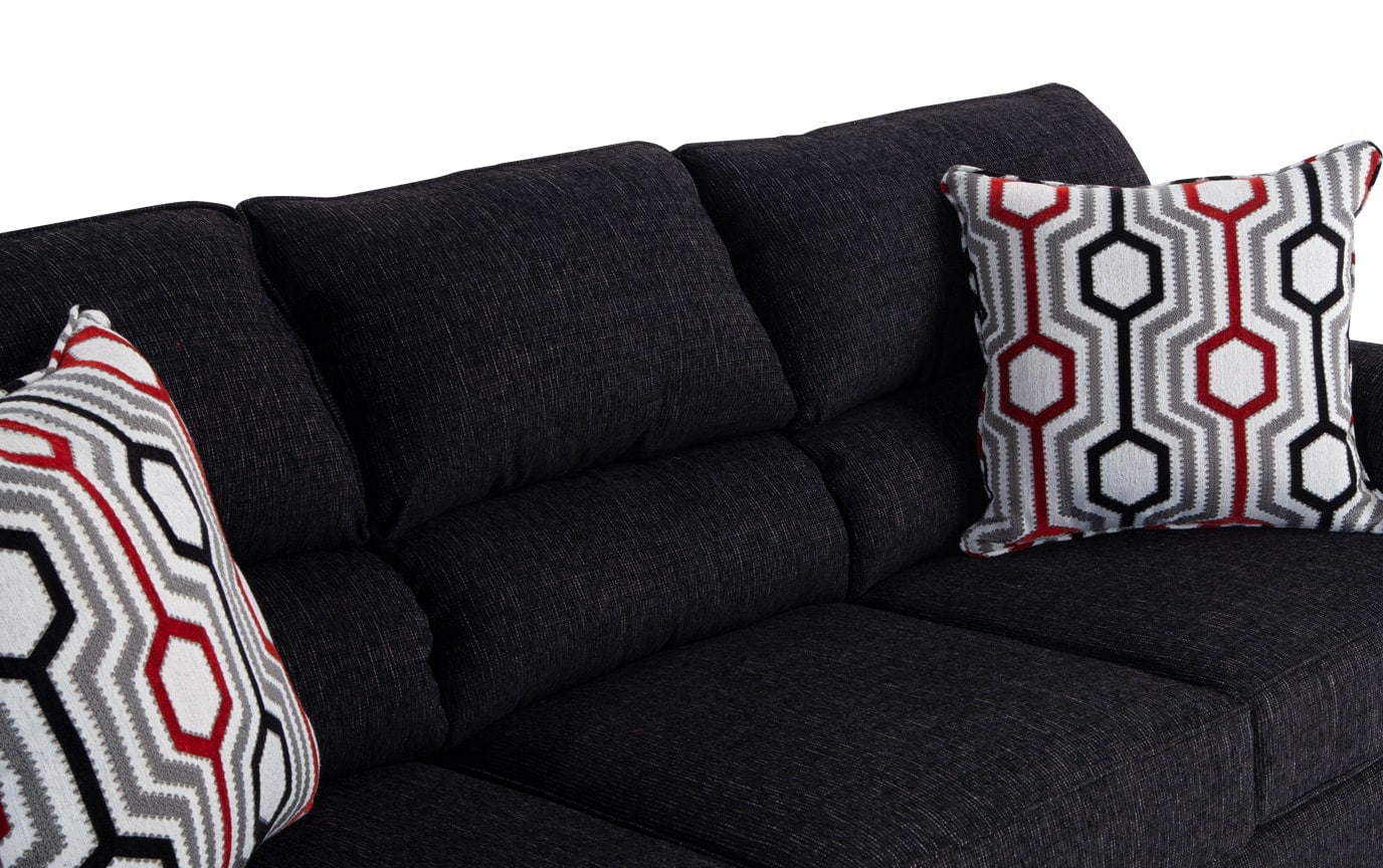 Calvin Queen Innerspring Sleeper Sofa & Accent Chair
