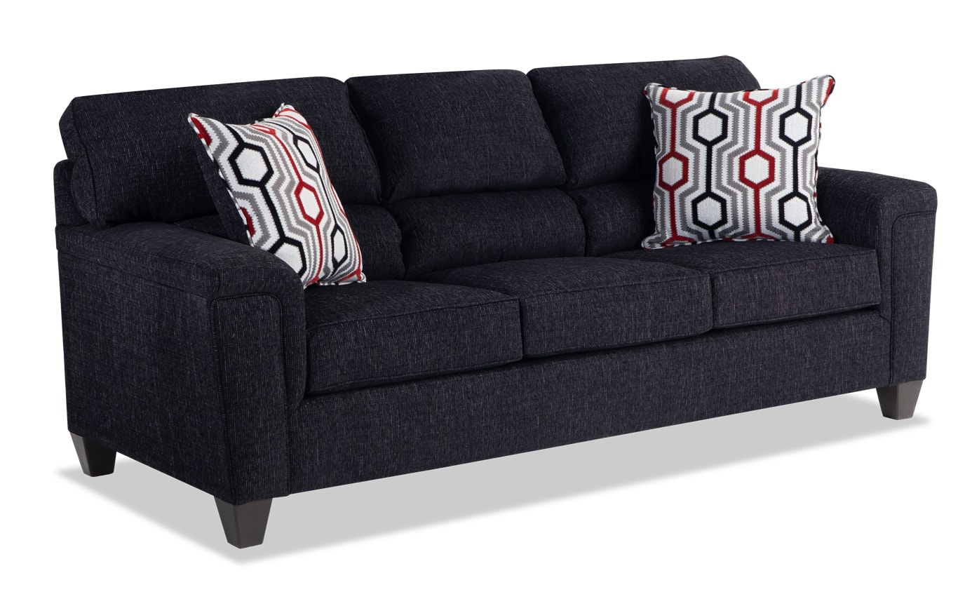 Calvin Queen Bob-O-Pedic Sleeper Sofa & Accent Chair