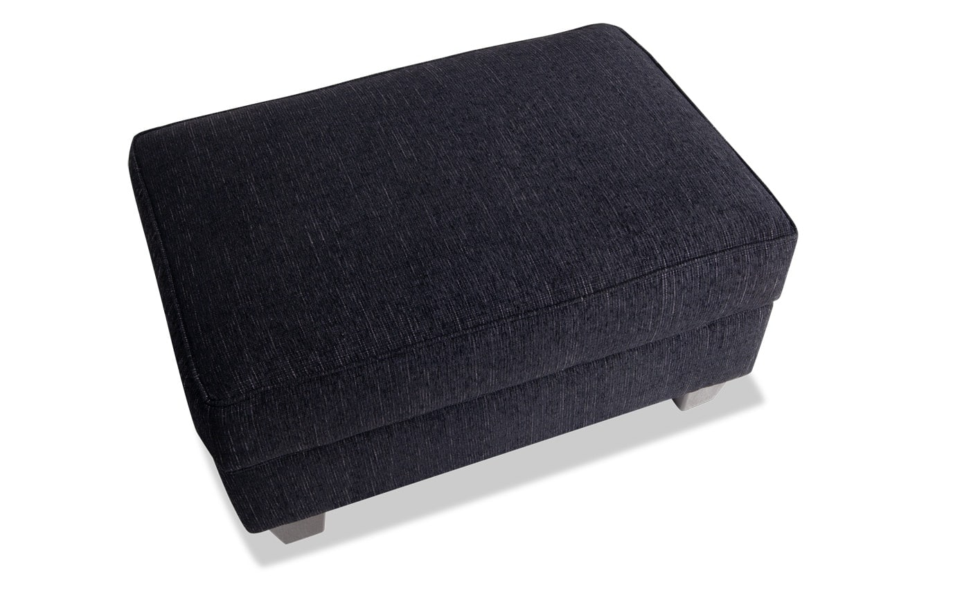 Calvin Queen Bob-O-Pedic Sleeper Sofa, Chair & Storage Ottoman