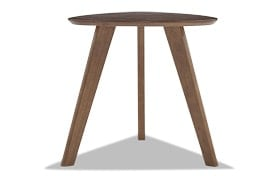 Toby Brown Three Leg End Table