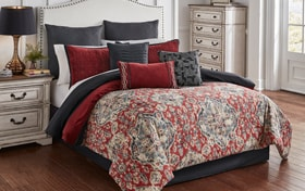 Lily King 10 Piece Comforter Set