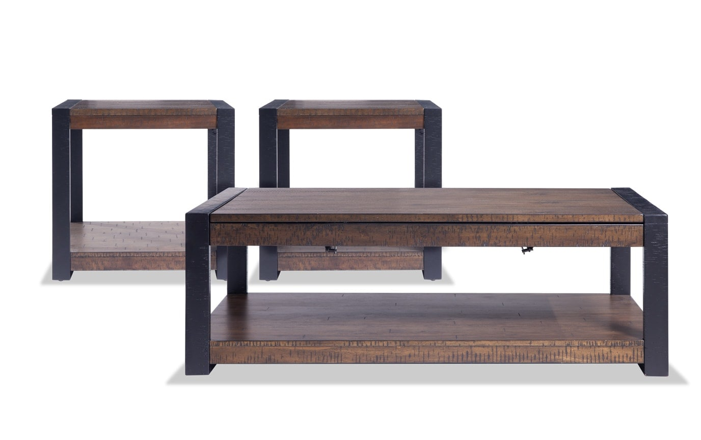 Carson Lift-Top Coffee Table Set